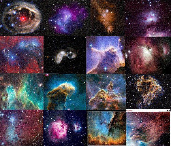 Resultado de imagen de Descubren células complejas en las nebulosas