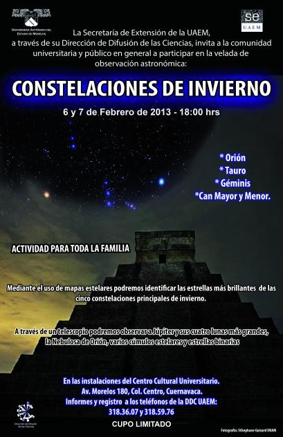Constelaciones de invierno 2013