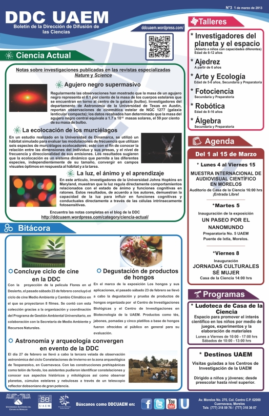 Boletín DDC 3-RS