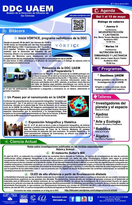 Boletín DDC 7 - RS