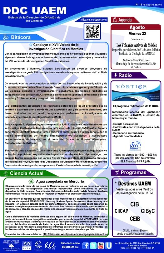 Boletín DDC 12 - RS