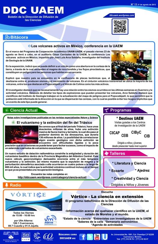 Boletín DDC 13 - RS