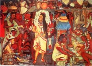 Semana - 1336 - 1 Mercado Tenochtitlán 1945
