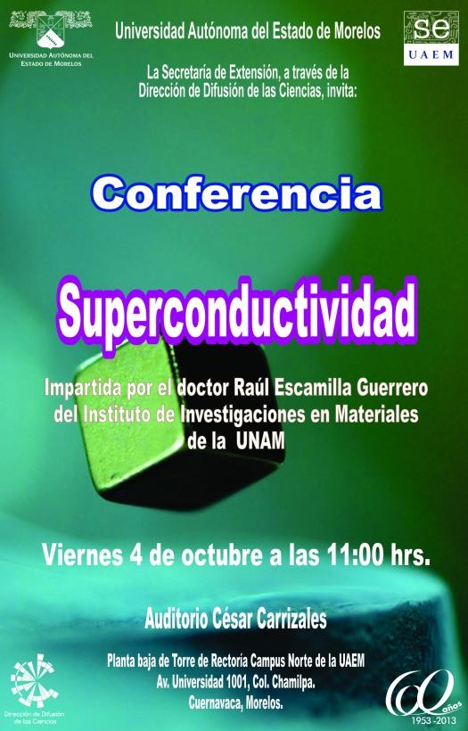 Conferencia Superconductividad RS