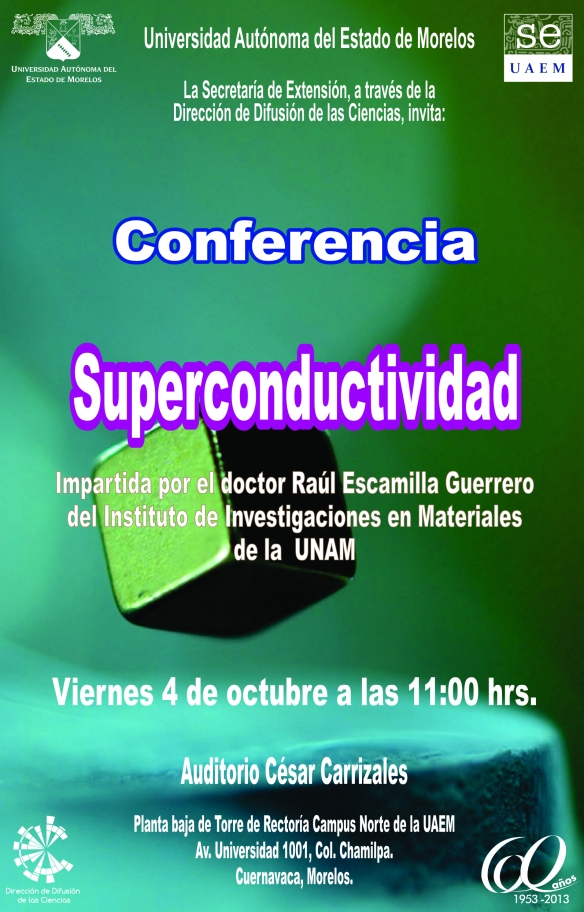 Conferencia: Superconductividad