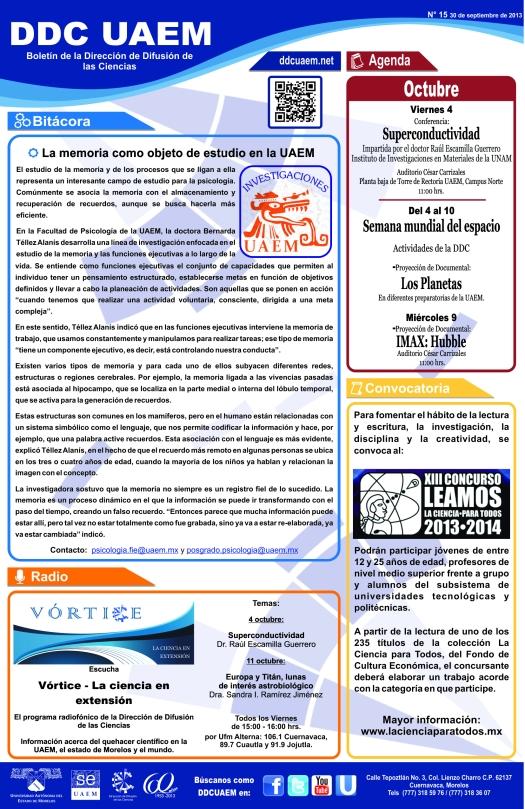 Boletín DDC 15 - RS