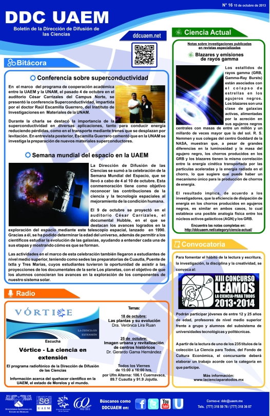 Boletín DDC 16 - RS
