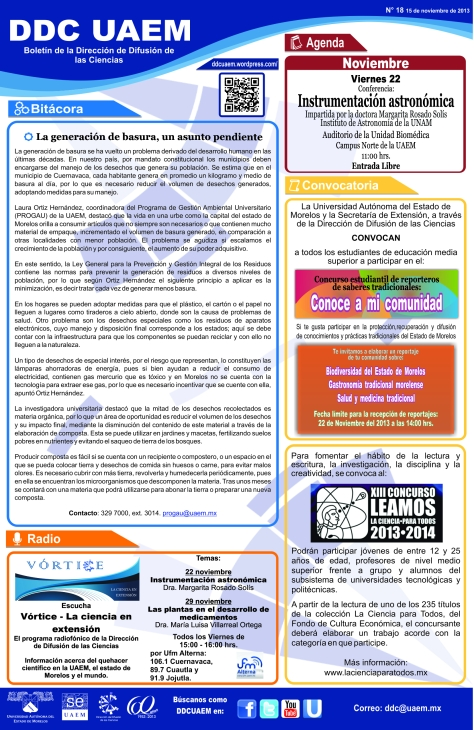 Boletín DDC 18 - RS