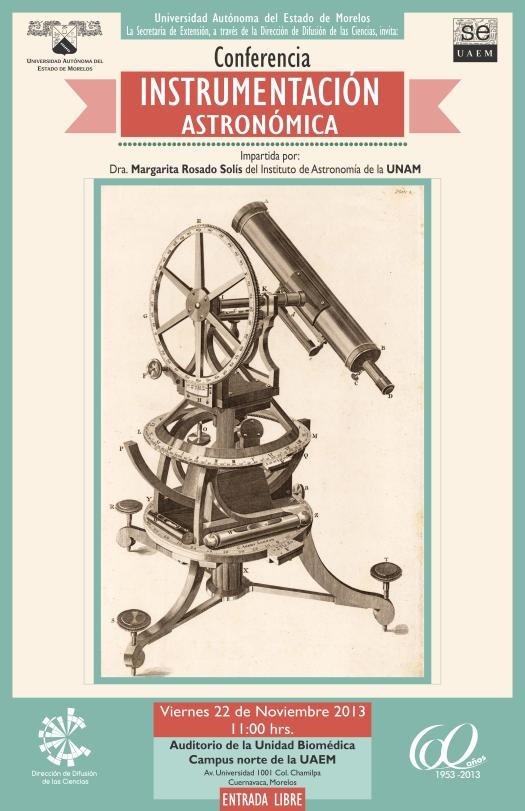 Cartel Instrumentación - Impresión