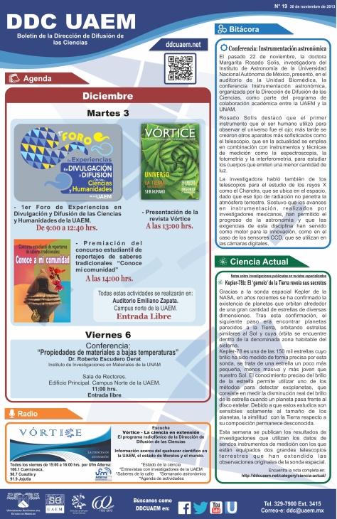 Boletín DDC 19 - RS