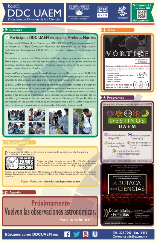 Boletín DDC 23 - RS