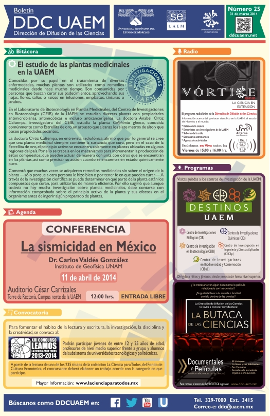 Boletín DDC 25 - RS