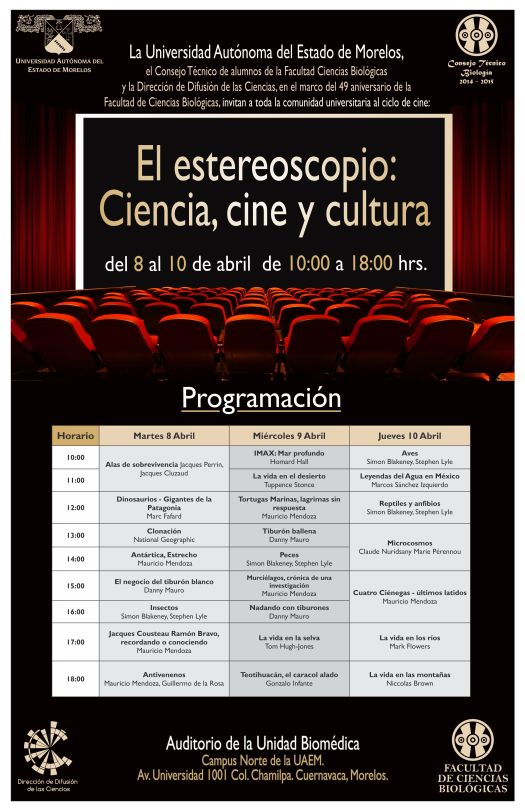 Cartel Estereoscopio 2014