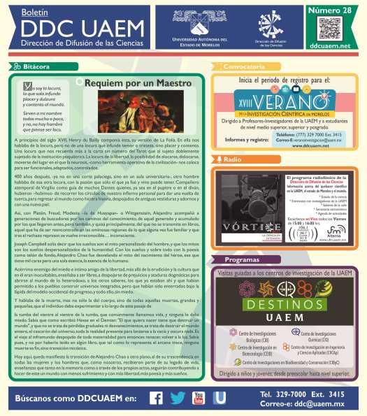Boletín DDC 28 - Prensa