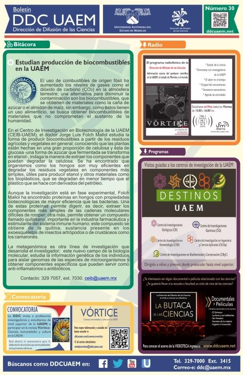 Boletín DDC 30 - RS2