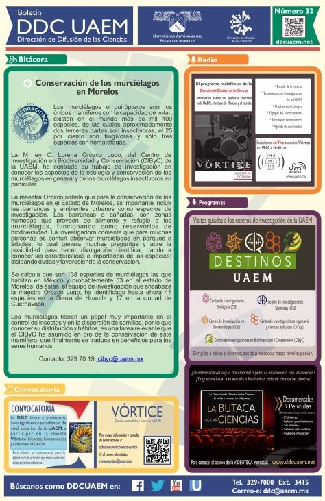 Boletín DDC 32 - RS