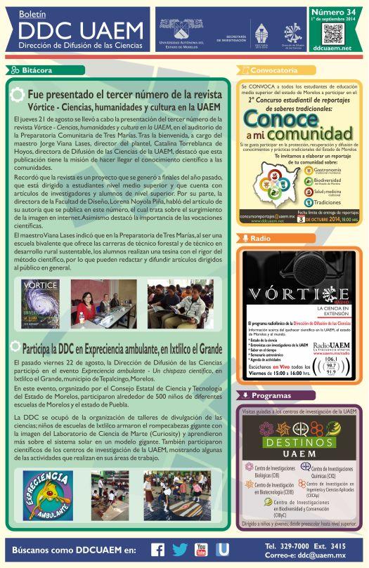 Boletín DDC 34 - RS