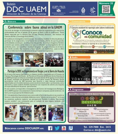 Boletín DDC 35 - RS