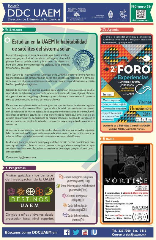 Boletín DDC 36 -RS