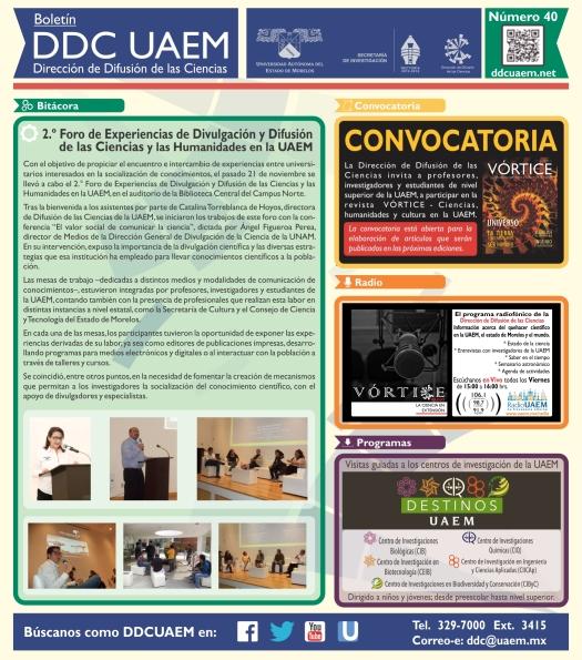 Boletín DDC 40 - RS