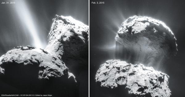 Semana -1540 - 3 Comet67P_NavCamFeb3